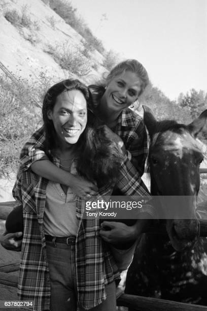 Actress Lindsay Wagner with Husband Henry Kingi