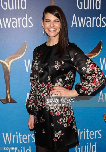 Actress Lindsey Kraft attends the 2019 Writers Guild Awards LA ceremony at The Beverly Hilton Hotel on February 17 2019 in Beverly Hills California