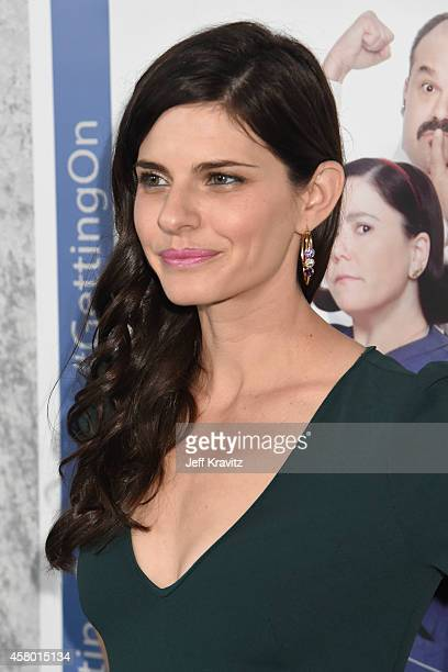 Actress Lindsey Kraft attends the HBO Getting On Season 2 Los Angeles Premiere at Avalon on October 28 2014 in Hollywood California