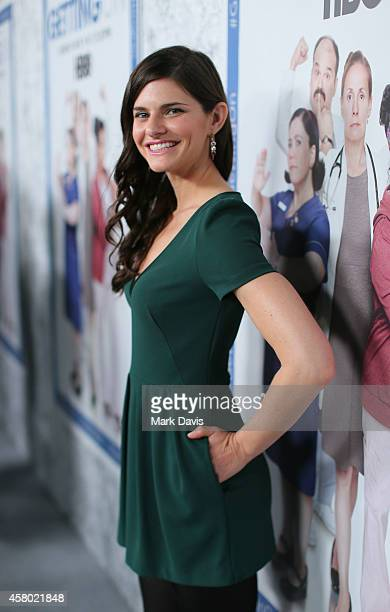 Actress Lindsey Kraft attends the HBO 'Getting On' Season 2 Los Angeles Premiere at Avalon on October 28 2014 in Hollywood California