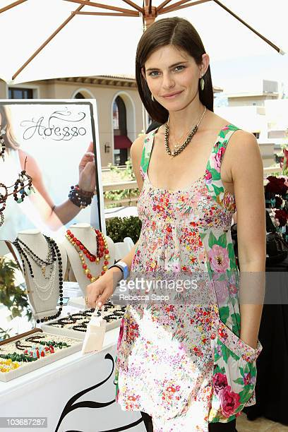 Actress Lindsey Kraft attends the Kari Feinstein Primetime Emmy Awards Style Lounge Day 2 held at Montage Beverly Hills hotel on August 27 2010 in...