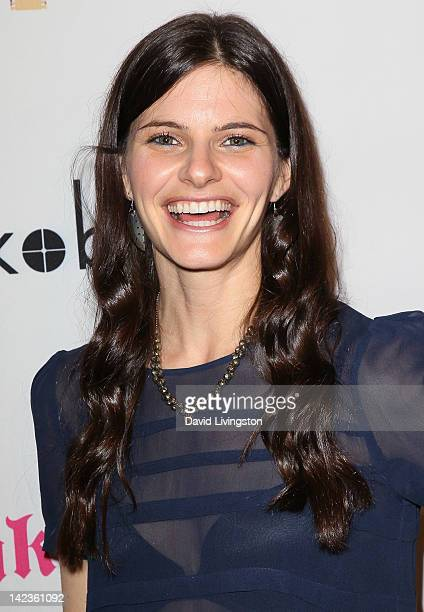 Actress Lindsey Kraft attends the premiere of Lfe Happens at AMC Century City 15 theater on April 2 2012 in Century City California