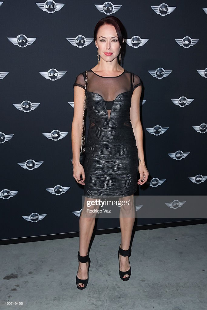 Actress Lindsey McKeon attends as MINI Cooper unveils newest addition to the MINI fleet during Los Angeles Auto Show at Kim Sing Theatre on November 19, 2013 in Los Angeles, California.