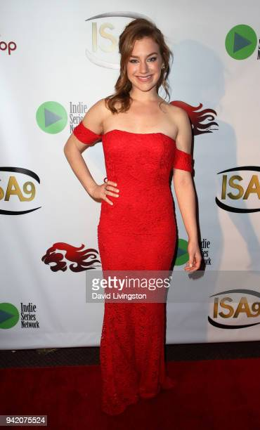 Actress Lindsey Middleton attends the 9th Annual Indie Series Awards at The Colony Theatre on April 4 2018 in Burbank California