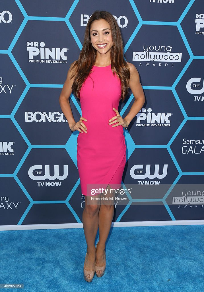 Actress Lindsey Morgan attends the 2014 Young Hollywood Awards brought to you by Samsung Galaxy at The Wiltern on July 27, 2014 in Los Angeles, California.