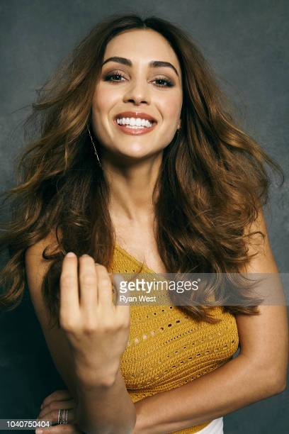 Actress Lindsey Morgan is photographed on October 1, 2017 in Los Angeles, California. PUBLISHED IMAGE.