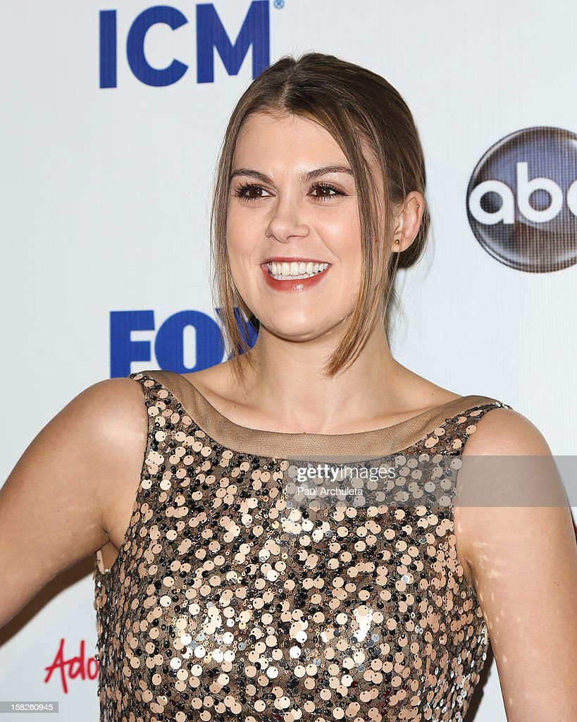 Actress Lindsey Shaw attends the Junior Hollywood Radio & Television Society's 10th annual holiday party at Boulevard3 on December 11, 2012 in Hollywood, California.