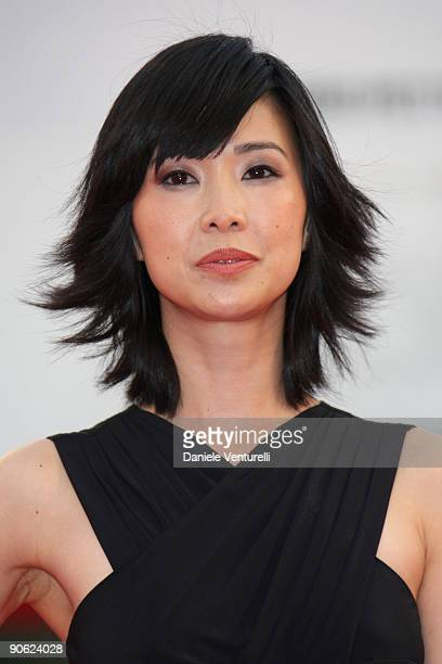 Actress Linh Dan Pham attends the Closing Ceremony Red Carpet And Inside at The Sala Grande during the 66th Venice Film Festival on September 12 2009...