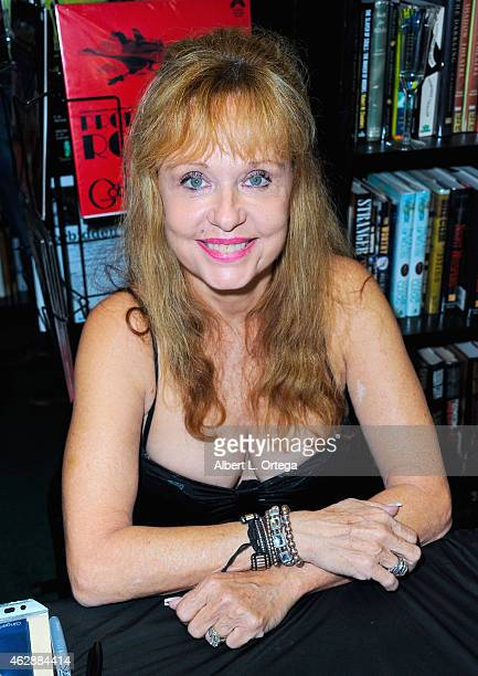Actress Linnea Quigley at the Second Annual David DeCoteau's Day Of The Scream Queens held at Dark Delicacies Bookstore on January 25, 2015 in...