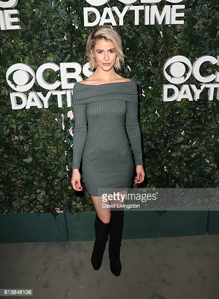 Actress Linsey Godfrey attends the CBS Daytime for 30 Years at The Paley Center for Media on October 10 2016 in Beverly Hills California