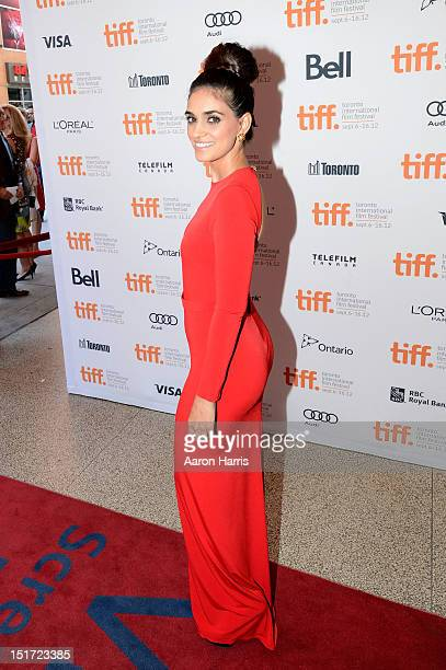 Actress Liraz Charhi attends the 'A Late Quartet' Premiere at the 2012 Toronto International Film Festival at The Elgin on September 10 2012 in...