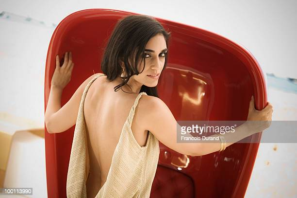 Actress Liraz Charhi poses for a portrait during the 63rd Annual Cannes Film Festival on May 21 2010 in Cannes France