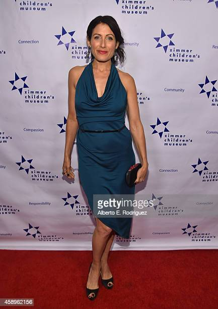 Actress Lisa Adelstein attends The Zimmer Children's Museum's 14th Annual Discovery Awards Dinner Honoring Dick Lippin and Allison Shearmur at the...
