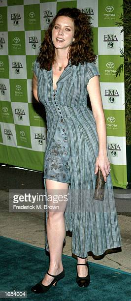 Actress Lisa Akey attends the 12th Annual Environmental Media Awards at the Ebell of Los Angeles on November 20 2002 in Los Angeles California The...