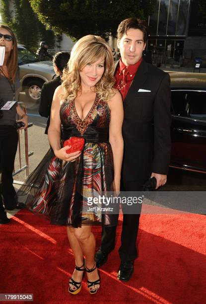 Actress Lisa Ann Walter and guest arrive at the Los Angeles premiere of Killers held at ArcLight Cinemas Cinerama Dome on June 1 2010 in Hollywood...