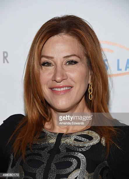 Actress Lisa Ann Walter arrives at the 13th Annual Lupus LA Hollywood Bag Ladies Luncheon at The Beverly Hilton Hotel on November 20 2015 in Beverly...