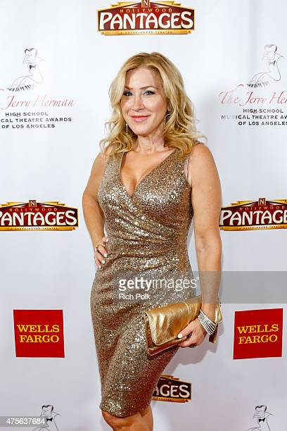 Actress Lisa Ann Walter arrives at the 4th Annual Jerry Herman Awards at the Pantages Theatre on June 1 2015 in Hollywood California