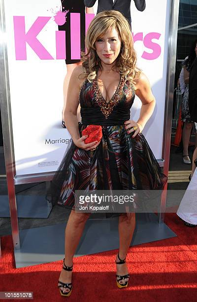 Actress Lisa Ann Walter arrives at the Los Angeles Premiere Killers at the ArcLight Cinemas Cinerama Dome on June 1 2010 in Hollywood California