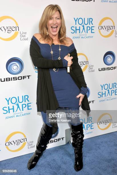 Actress Lisa Ann Walter arrives at the Ubisoft and Oxygen YOUR SHAPE fitness game launch party at Hyde Lounge on December 2 2009 in West Hollywood...