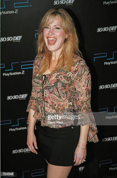 Actress Lisa Ann Walter attends Playstation 2 Atlantas Grammy Invasion party February 25 2002 in West Hollywood CA