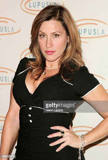 Actress Lisa Ann Walter attends the Lupus LA 6th annual Hollywood Bag Ladies Luncheon at the Beverly Wilshire Hotel on November 7 2008 in Beverly...
