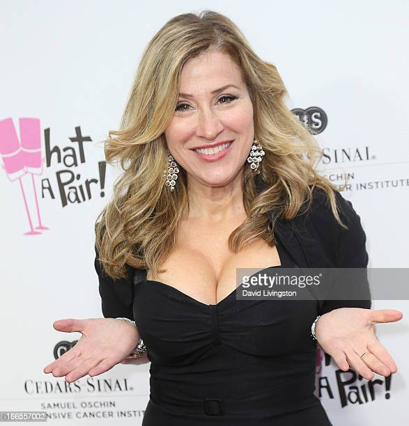 Actress Lisa Ann Walter attends the What A Pair benefit concert at The Broad Stage on April 13 2013 in Santa Monica California