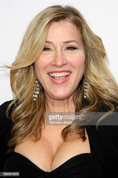 """Actress Lisa Ann Walter attends the """"What A Pair!"""" benefit concert held at The Broad Stage on April 13, 2013 in Santa Monica, California."""