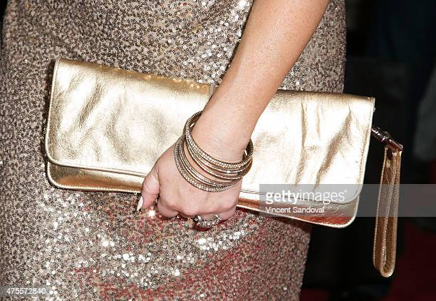 Actress Lisa Ann Walter,purse detail, attends the 4th Annual Jerry Herman High School Musical Theater Awards at the Pantages Theatre on June 1, 2015...