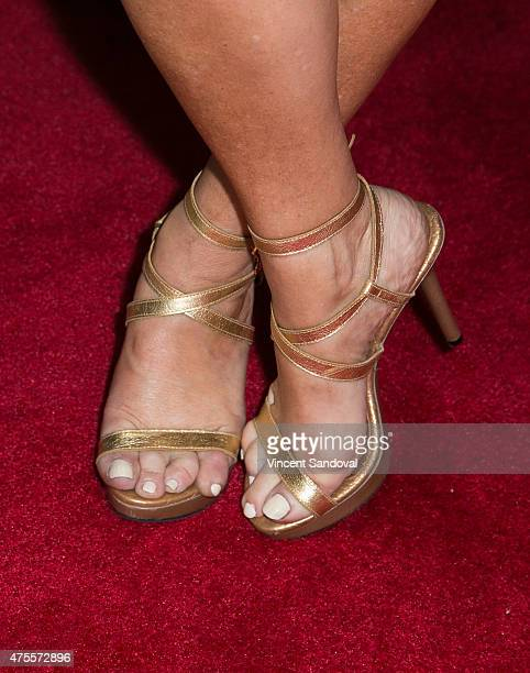 Actress Lisa Ann Walter,shoe detail, attends the 4th Annual Jerry Herman High School Musical Theater Awards at the Pantages Theatre on June 1, 2015...