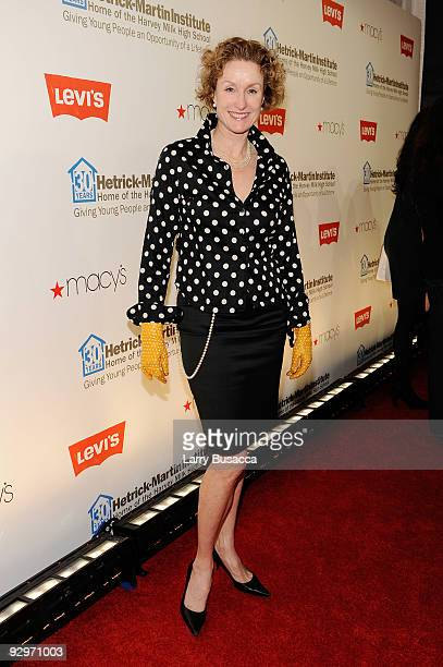 Actress Lisa Banes attends The 2009 Emery Awards and 30th Anniversary of the HetrickMartin Institute at Cipriani Wall Street on November 10 2009 in...