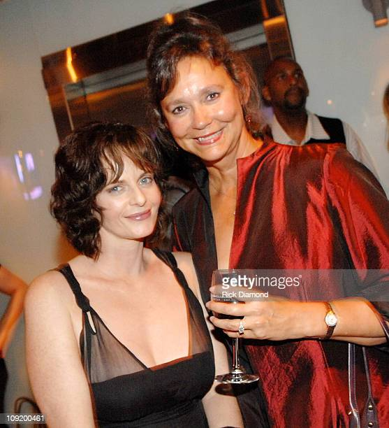 Actress Lisa Blount and New York Times Best Seller Jill Conner Browne at the after party for Randy and The Mob Held at STRIP in Atlantic Station...
