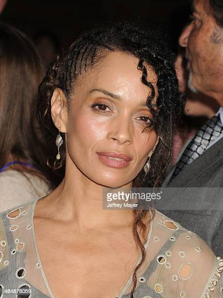 Actress Lisa Bonet arrives at the Los Angeles premiere of 'Divergent' at Regency Bruin Theatre on March 18 2014 in Los Angeles California