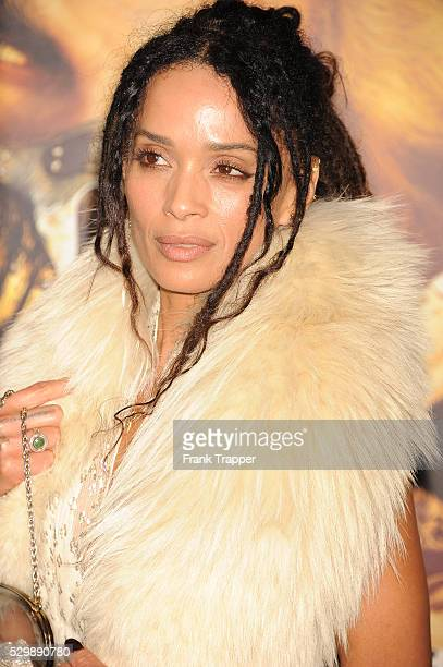 """Actress Lisa Bonet arrives at the premiere of """"Mad Max: Fury Road"""" held at the TCL Chinese Theater in Hollywood."""