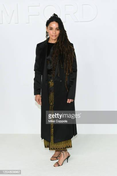 Actress Lisa Bonet attends the Tom Ford AW20 Show at Milk Studios on February 07 2020 in Hollywood California