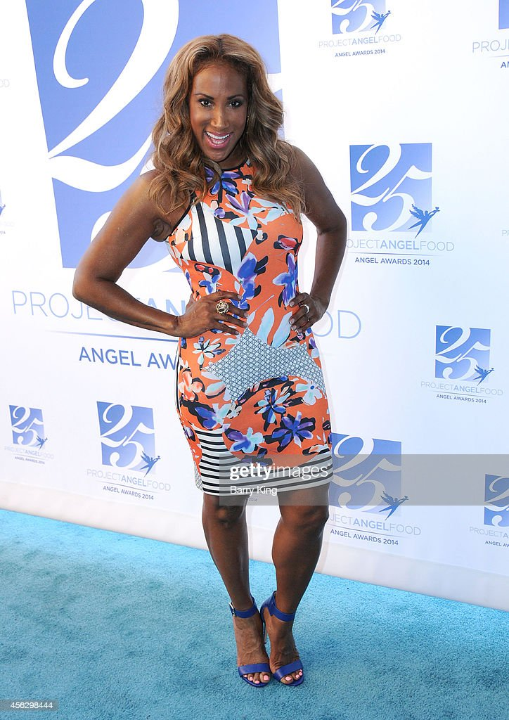 Actress Lisa Deveaux arrives for Project Angel Food Celebrates 25 Years With 2014 Angel Awards at Project Angel Food on September 6, 2014 in Los Angeles, California.