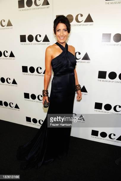 Actress Lisa Edelstein arrives at 2011 MOCA Gala, An Artist's Life Manifesto, Directed by Marina Abramovic at MOCA Grand Avenue on November 12, 2011...