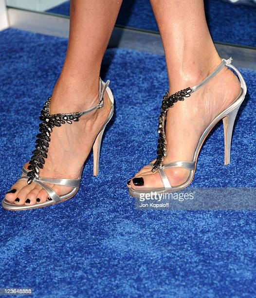 Actress Lisa Edelstein arrives at the 2011 People's Choice Awards at Nokia Theatre LA Live on January 5 2011 in Los Angeles California