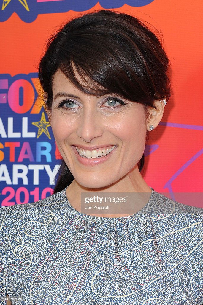 Actress Lisa Edelstein arrives at the Fox All-Star Party at Pacific Park at the Santa Monica Pier on August 2, 2010 in Santa Monica, California.