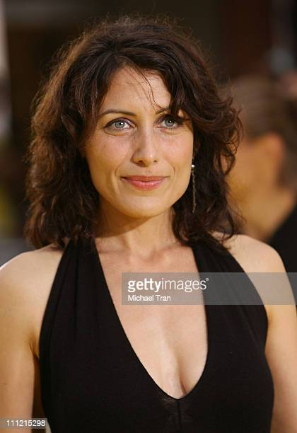 Actress Lisa Edelstein arrives at 'The Simpsons Movie' World Premiere at The Mann Bruin and The Mann Village Theaters on July 24 2007 in Westwood...