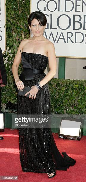 Actress Lisa Edelstein arrives for the 66th Annual Golden Globe Awards in Beverly Hills California US on Sunday Jan 11 2009 Heath Ledger received a...