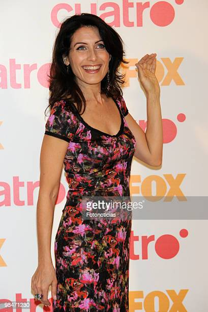 Actress Lisa Edelstein attends a 'Dr House' promotional photocall, at Villamagna Hotel on April 15, 2010 in Madrid, Spain.