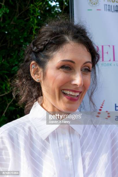Actress Lisa Edelstein attends BELLA New York's Fifth Annual Hamptons White Party at Southampton Social Club on August 5 2017 in Southampton New York