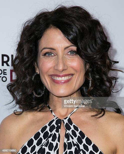 Actress Lisa Edelstein attends Bravo's Los Angeles premiere of 'Girlfriends Guide To Divorce' at Ace Hotel on November 18 2014 in Los Angeles...