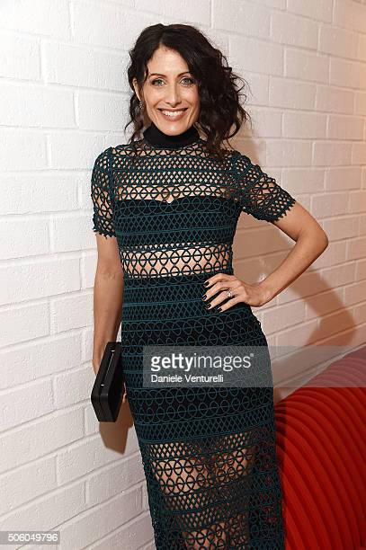 Actress Lisa Edelstein attends Cocktail Party Celebrating 1th Taormina Film Fest Los Angeles 2016 at Italian Cultural Institute Of Los Angeles on...