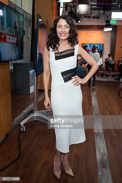 Actress Lisa Edelstein attends 'Lisa Edelstein and DB Woodside visit Hollywood Today Live' at W Hollywood on January 20 2017 in Hollywood California