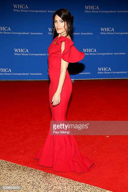 Actress Lisa Edelstein attends the 102nd White House Correspondents' Association Dinner on April 30 2016 in Washington DC
