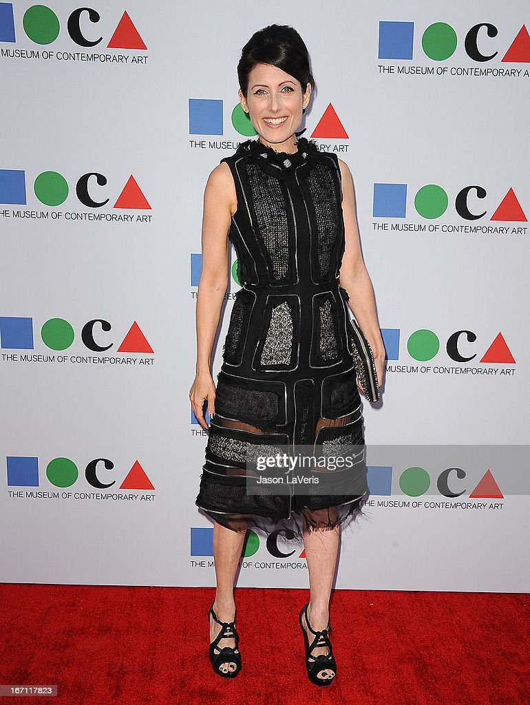 Actress Lisa Edelstein attends the 2013 MOCA Gala at MOCA Grand Avenue on April 20, 2013 in Los Angeles, California.