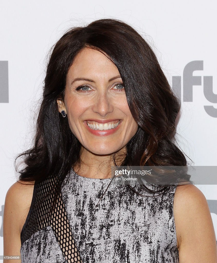 Actress Lisa Edelstein attends the 2015 NBCUniversal Cable Entertainment Upfront at The Jacob K. Javits Convention Center on May 14, 2015 in New York City.