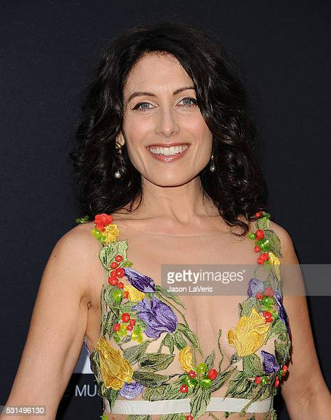 Actress Lisa Edelstein attends the 2016 MOCA Gala at The Geffen Contemporary at MOCA on May 14 2016 in Los Angeles California