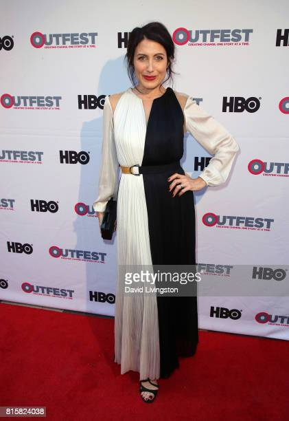 Actress Lisa Edelstein attends the 2017 Outfest Los Angeles LGBT Film Festival closing night gala screening of 'Freak Show' at The Theatre at Ace...